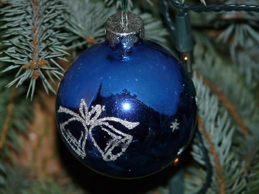 Christmas Colour Themes Blue