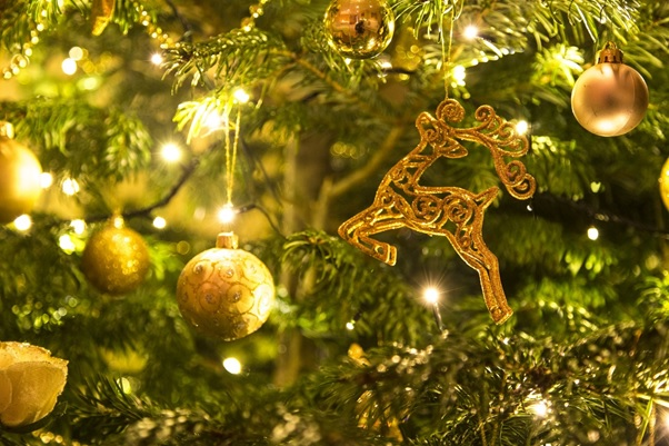 Christmas Colour Themes Gold