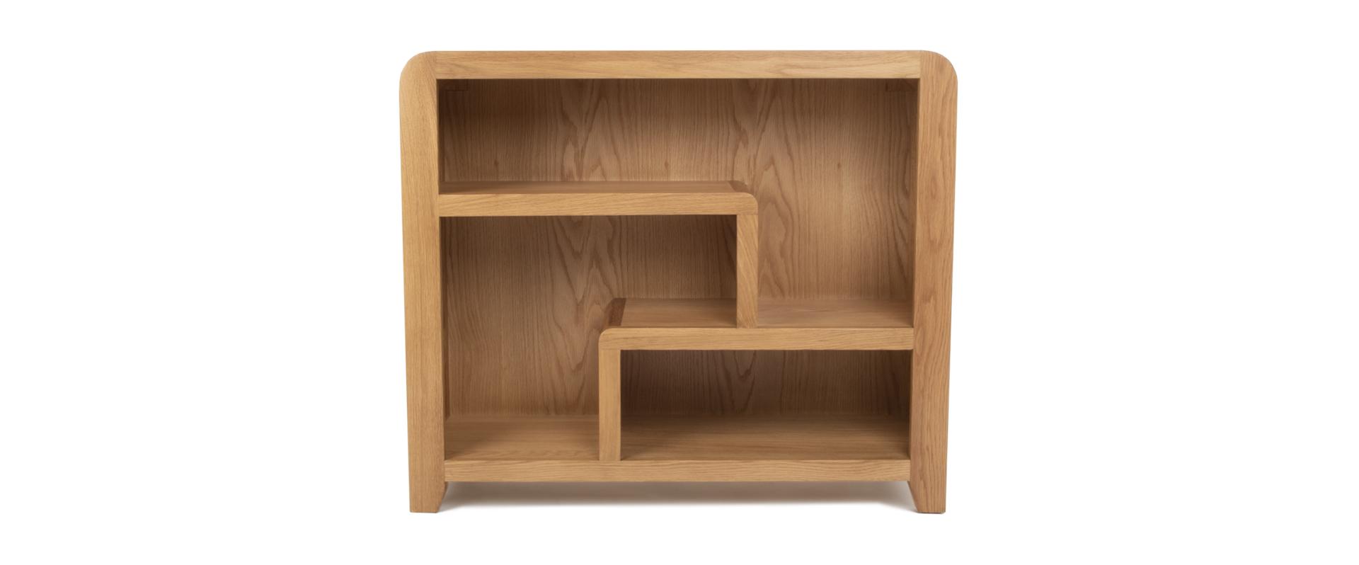 Curve Small Bookcase