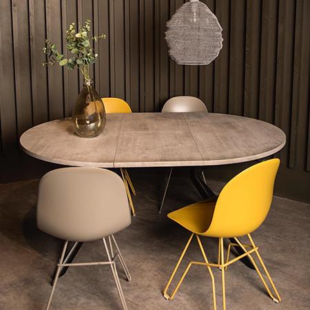 Academy Dining Chair - Mustard