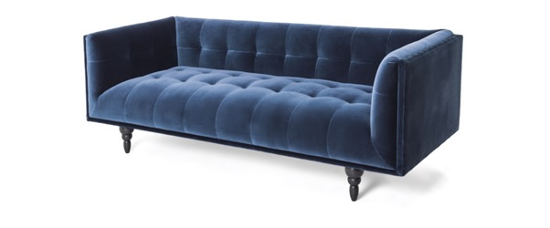 Christmas Colour Themes Blue Sofa