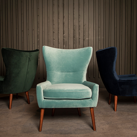 Godwin Velvet Accent Chairs
