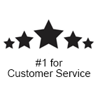 #1 for Customer Service