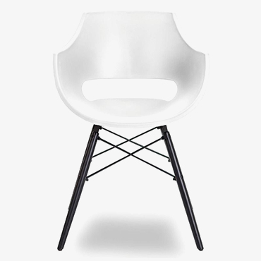Jazz Dining Chair White