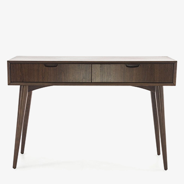Oslo Walnut Console Table with Drawers